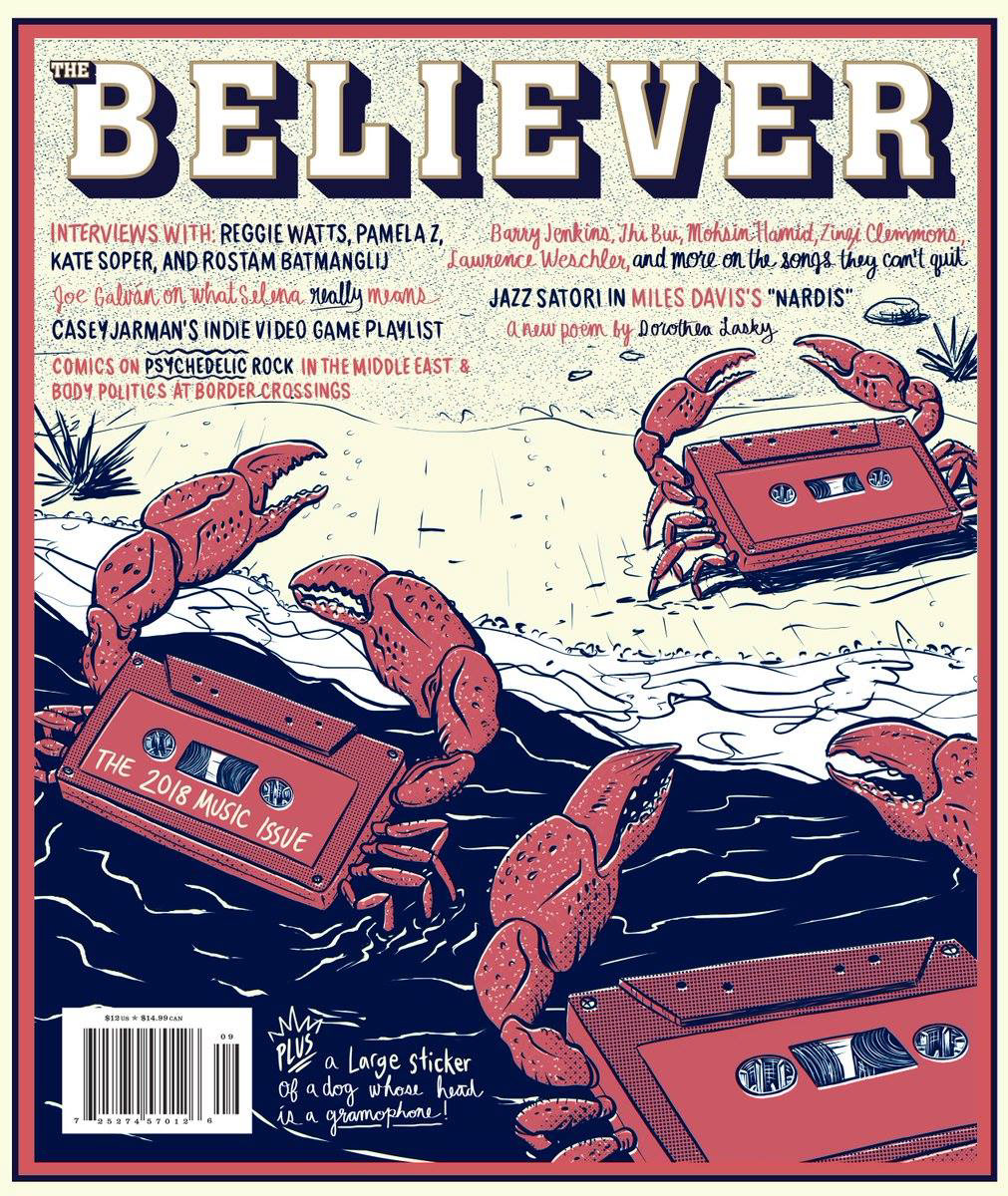 Jarett Sitter, The Believer: The Music Issue