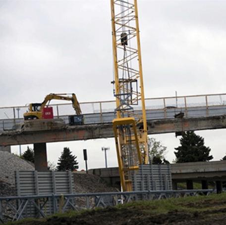 Zoo Bridge Emergency Repair