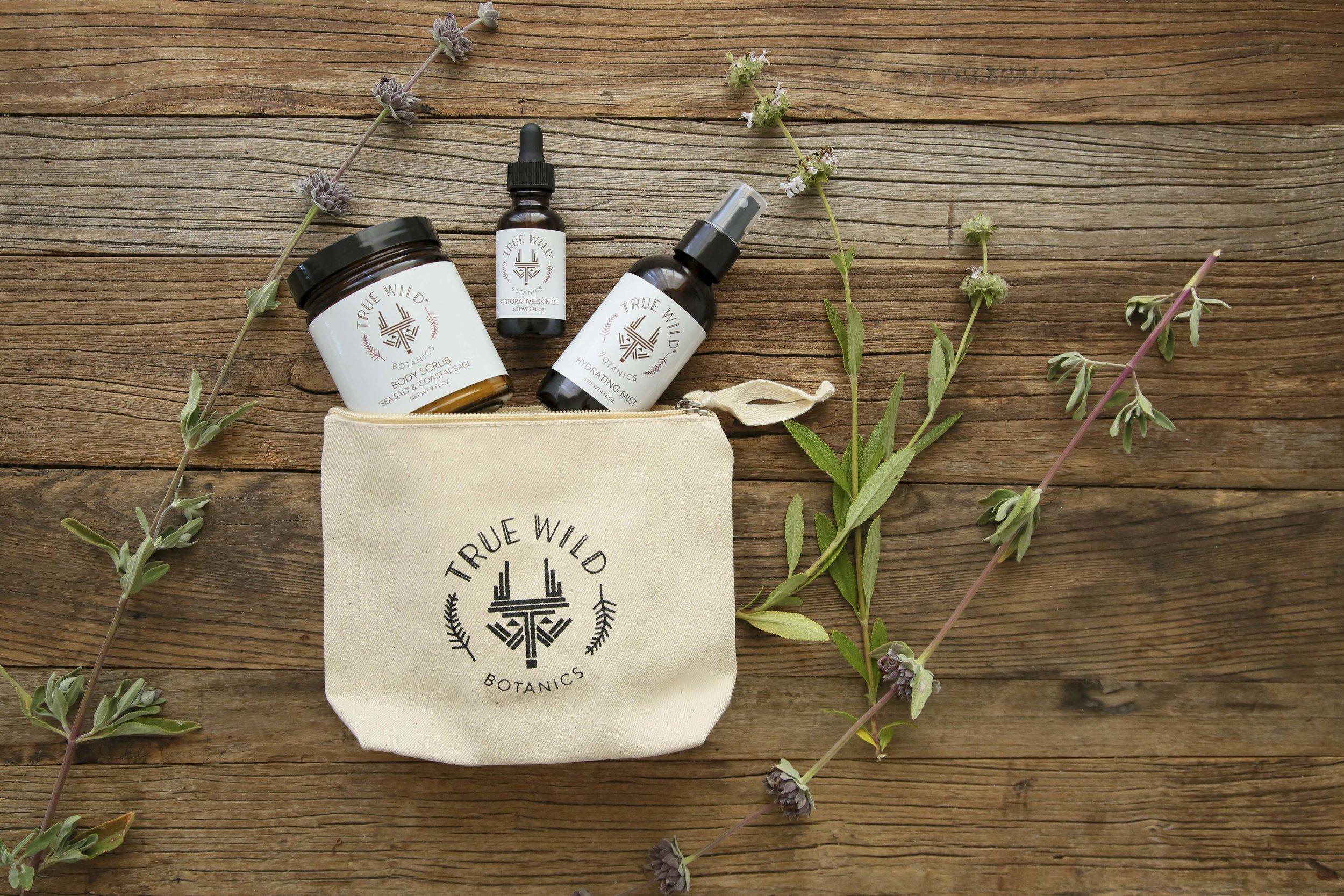 True Wild Botanics Trio Kit
