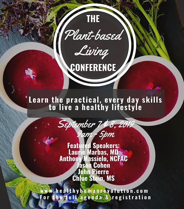 The Plant-based Living Conference is unlike any other plant-based conference 🎉 . On September 7 & 8 in Denver, CO, we are going to teach you what you need to know to live this lifestyle through practical tools, real world experience, interactive cooking demonstrations, and countless resources! .  Featured speakers include Dr. Laurie Marbas, Anthony Masiello, John Pierre, Jason Cohen, and yours truly 😁 Combined, we have released hundreds of pounds through this lifestyle and have decades of experience in the plant-based world helping individuals reverse chronic disease and create their ideal lives 🥗💪🍉 .  Breakfast and lunch will be provided, again by yours truly 😘 . For tickets and more information, check out the link in my bio 🙌🏻🌱💖 . . . #wfpb #wholefoodplantbased #cleaneating #eathealthy #healthyliving #plantbasedlife #howtoloseweight #veganfood #weightlossinspo #denvercolorado #sustainablefood #chloescleancuisine