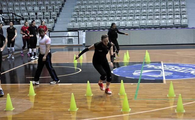 During practice, Besiktas JK Istanbul, 2014/2015