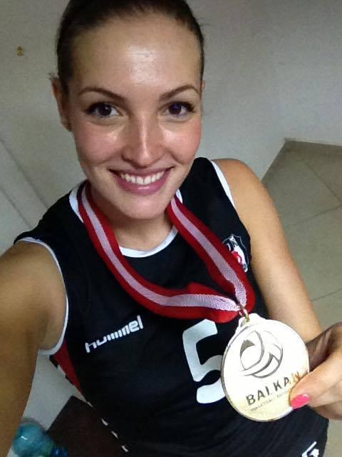 Gold medal from the Balkan Cup, Besiktas JK Istanbul, 2013/2014