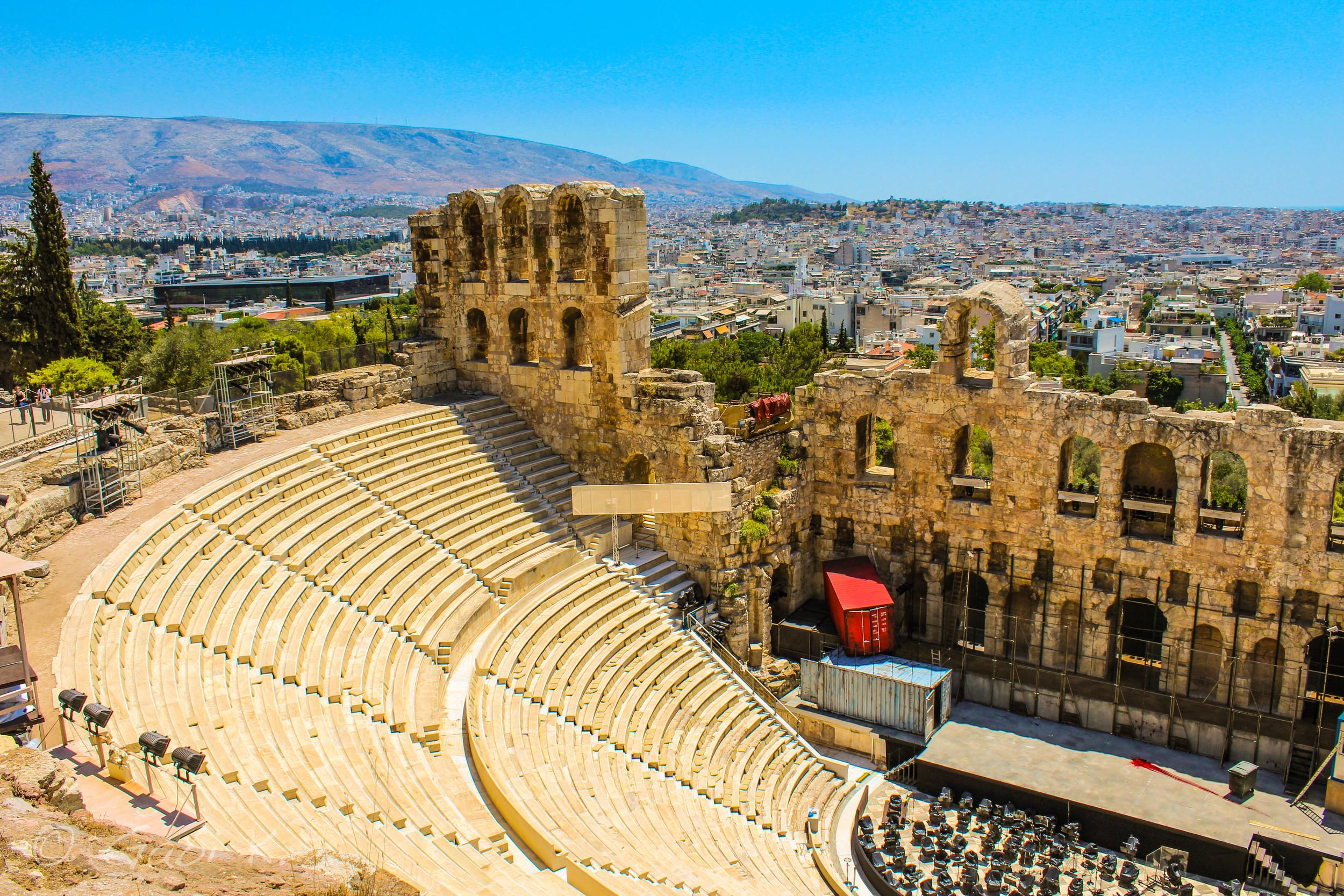 Theatre of Dionysus Elethereus