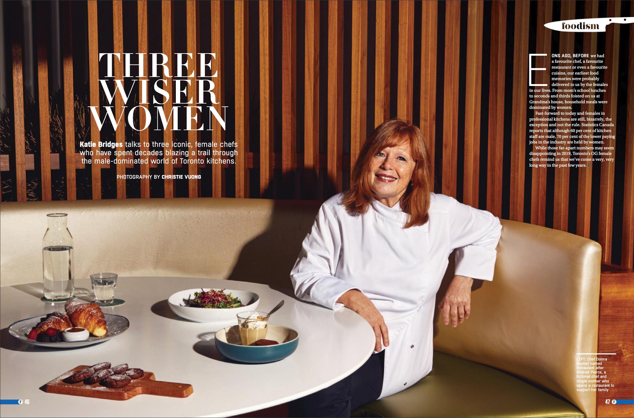 Foodism Magazine - Donna Dooher