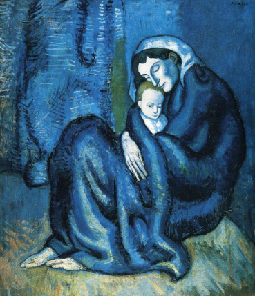 Mother and Child, 1902 - Pablo Picasso