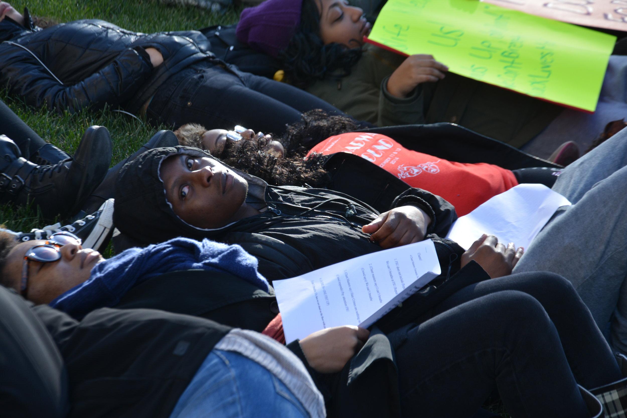 Framingham State University Civil Rights Protest 2015