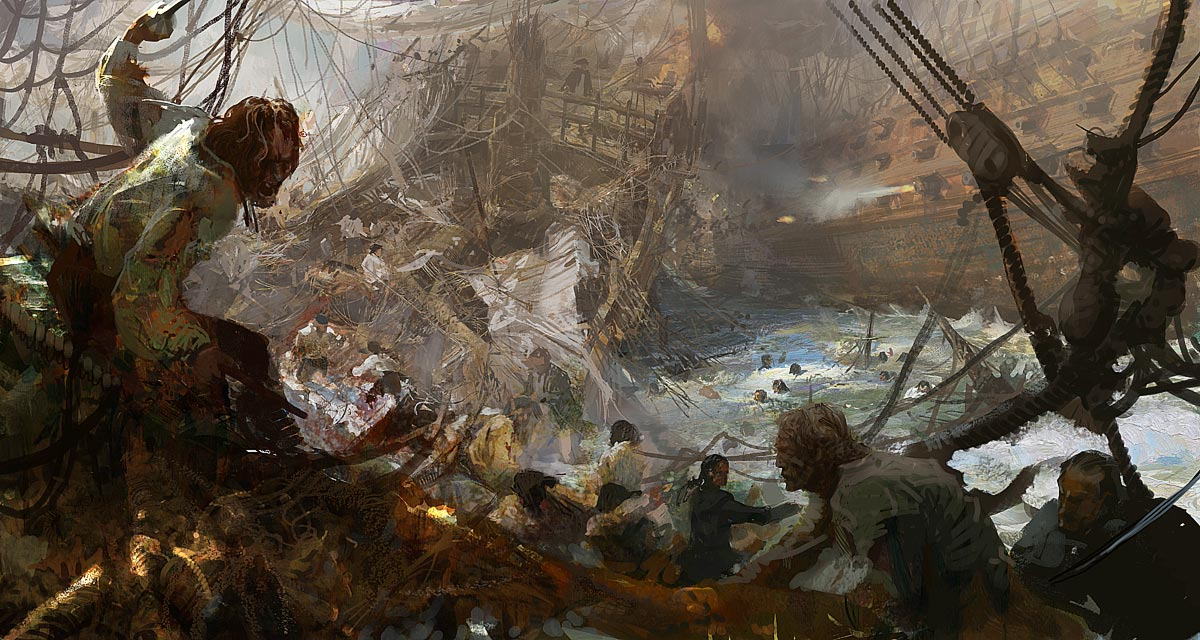 Ship to Ship by Craig Mullins
