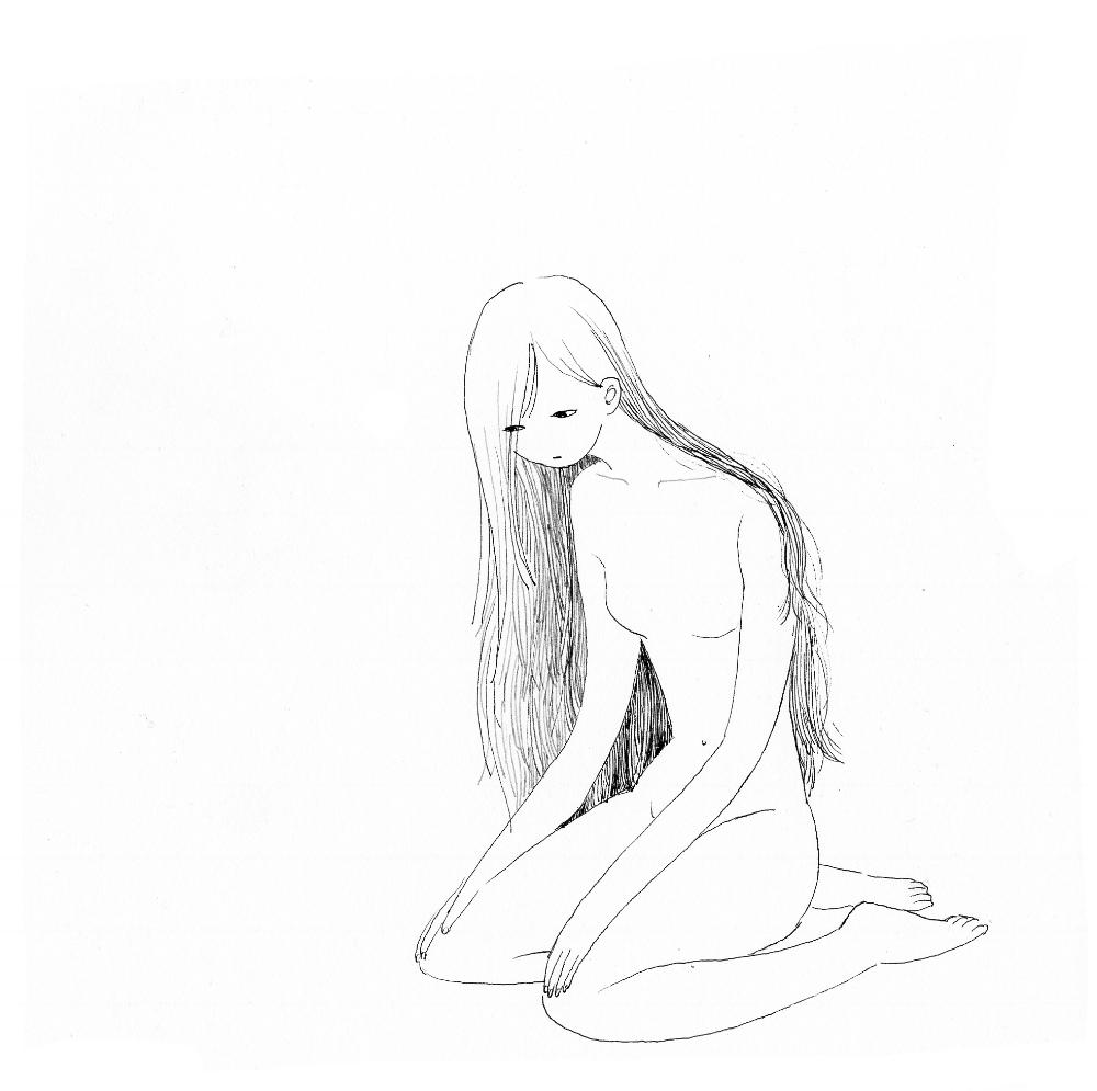 Untitled (sitting woman)