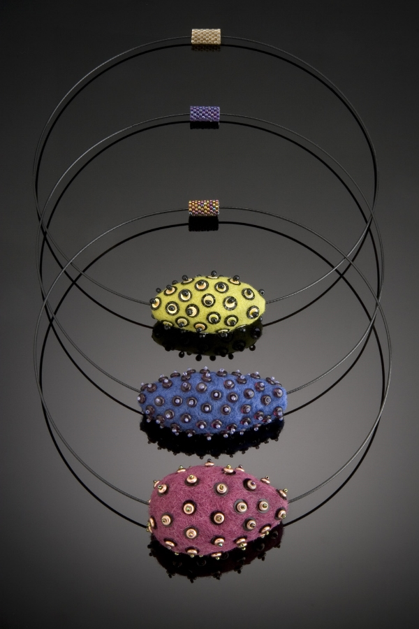 3 Felt Beads-Sold