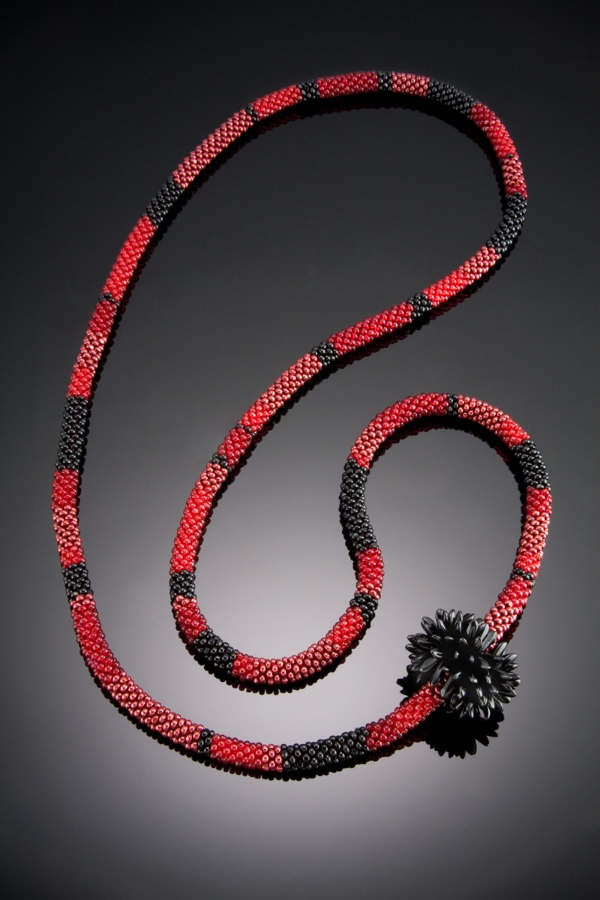 Red & Black Rope-Sold