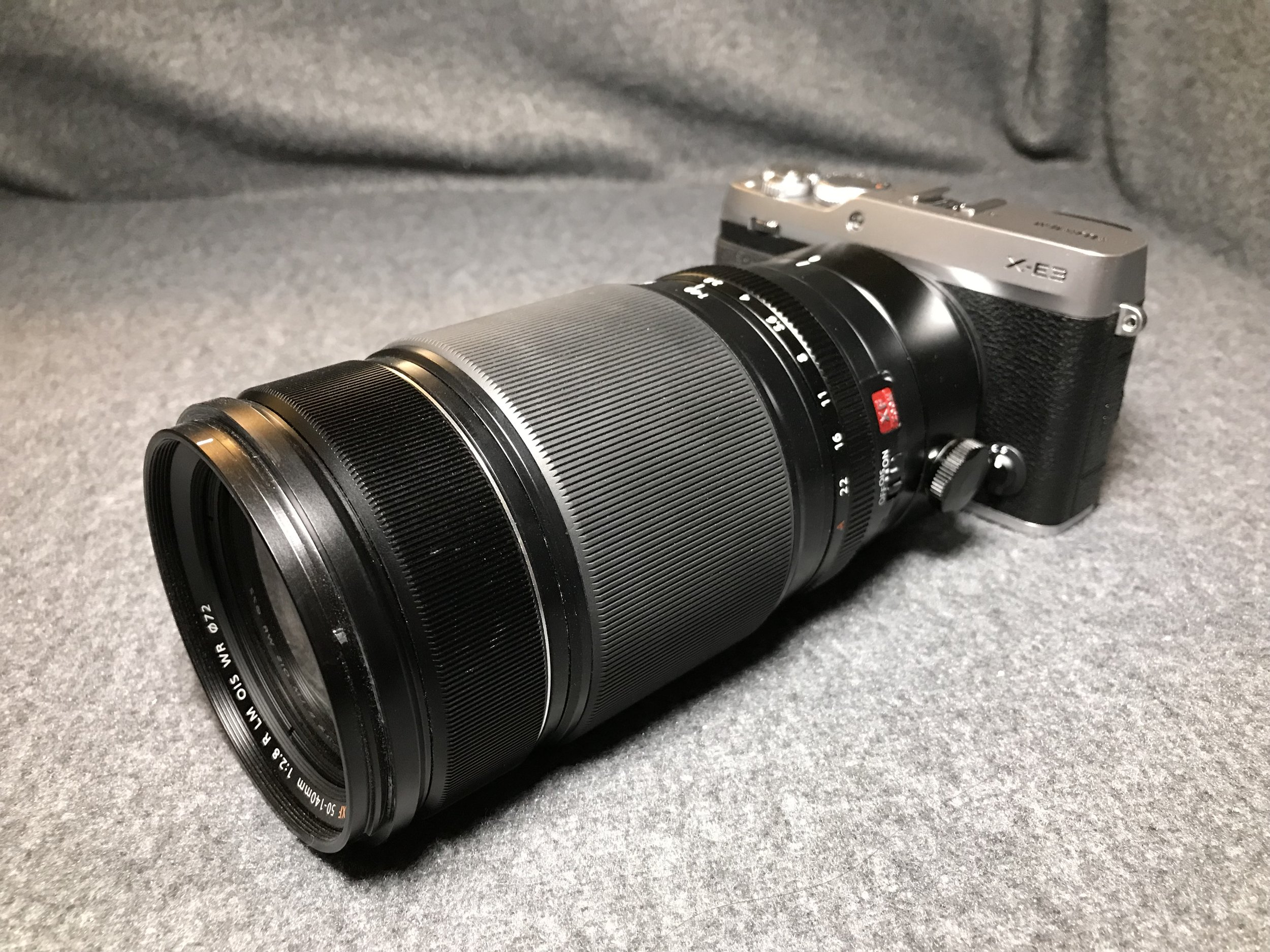 XF50-140mmF2.8 - This might be the beginning of a beautiful friendship...