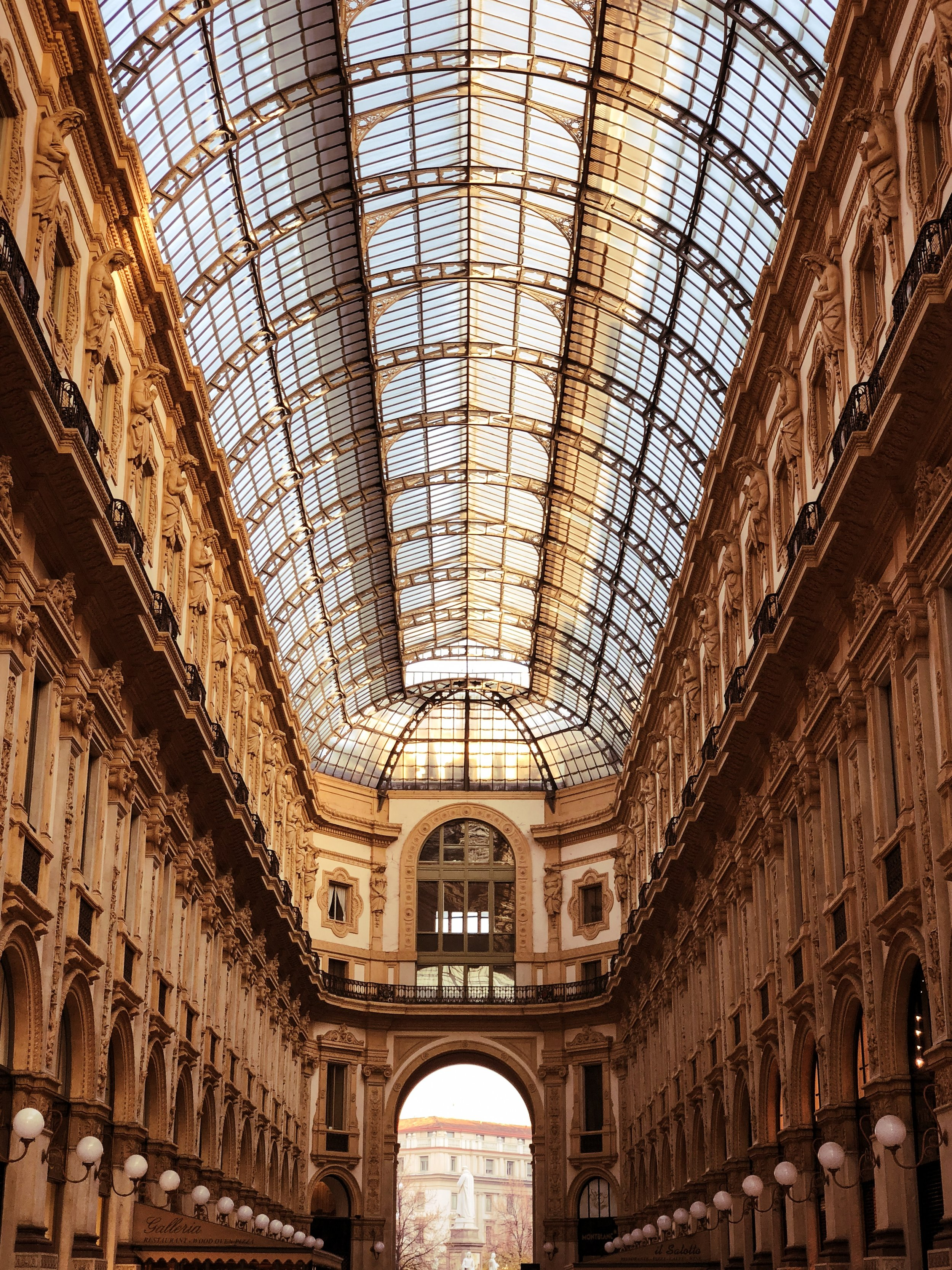 Milan - Shoot, edit and post while your better half is shopping.