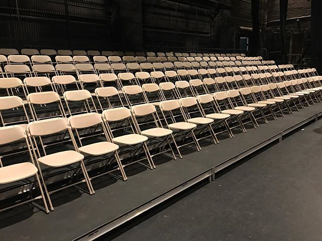 SCL providing multi-level risers for a graduation ceremony in Torrington