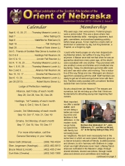 September-October, 2012 Volume II, Issue 5