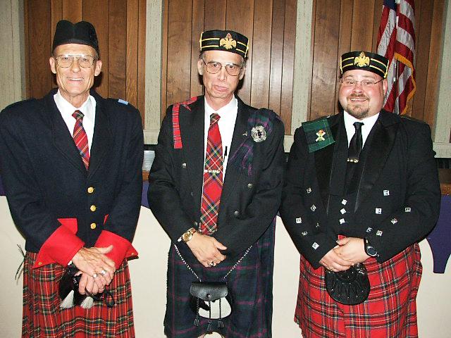 July 2006: charter members Hersh Talley, Jim Batten, and David Bloomquist.