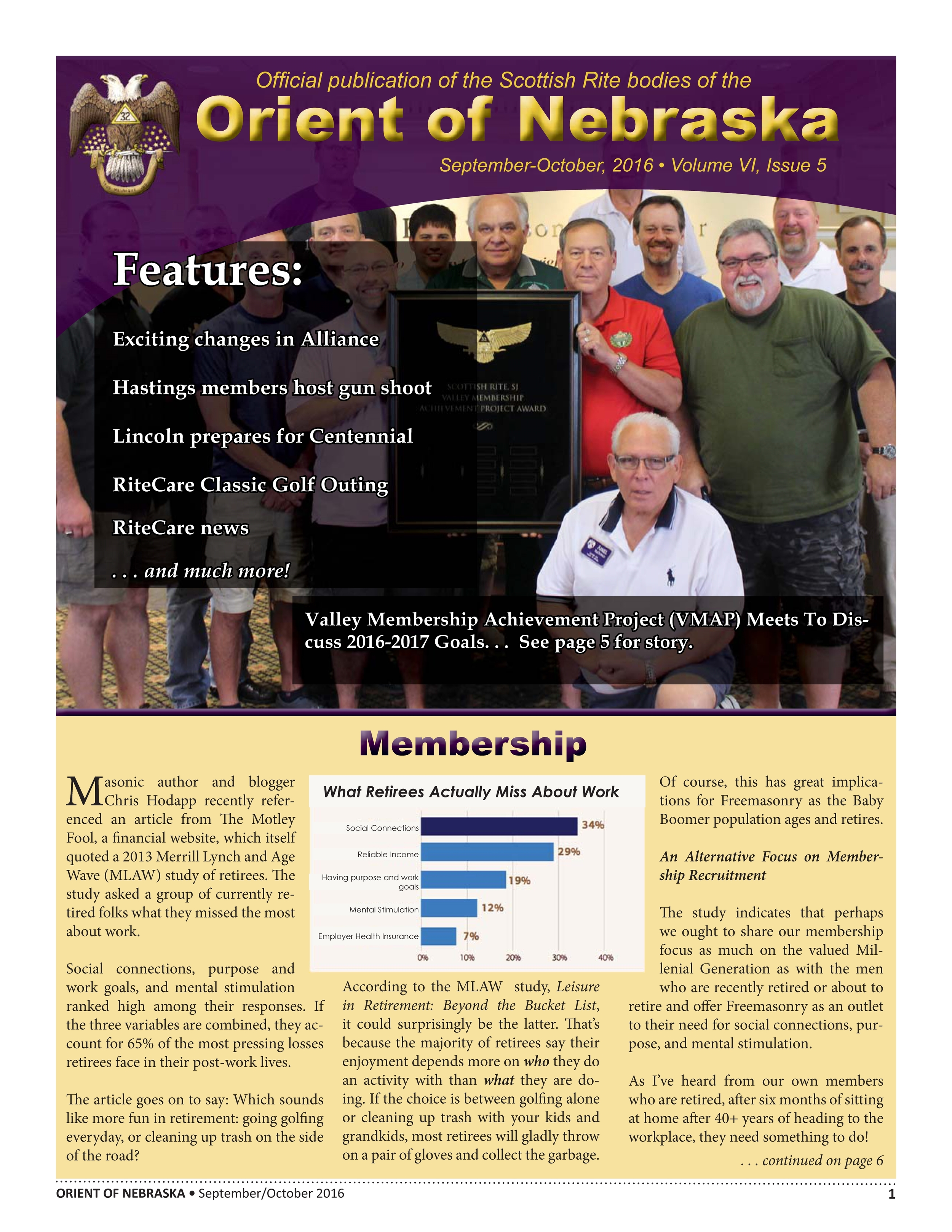 September-October 2016 Volume VI, Issue 5