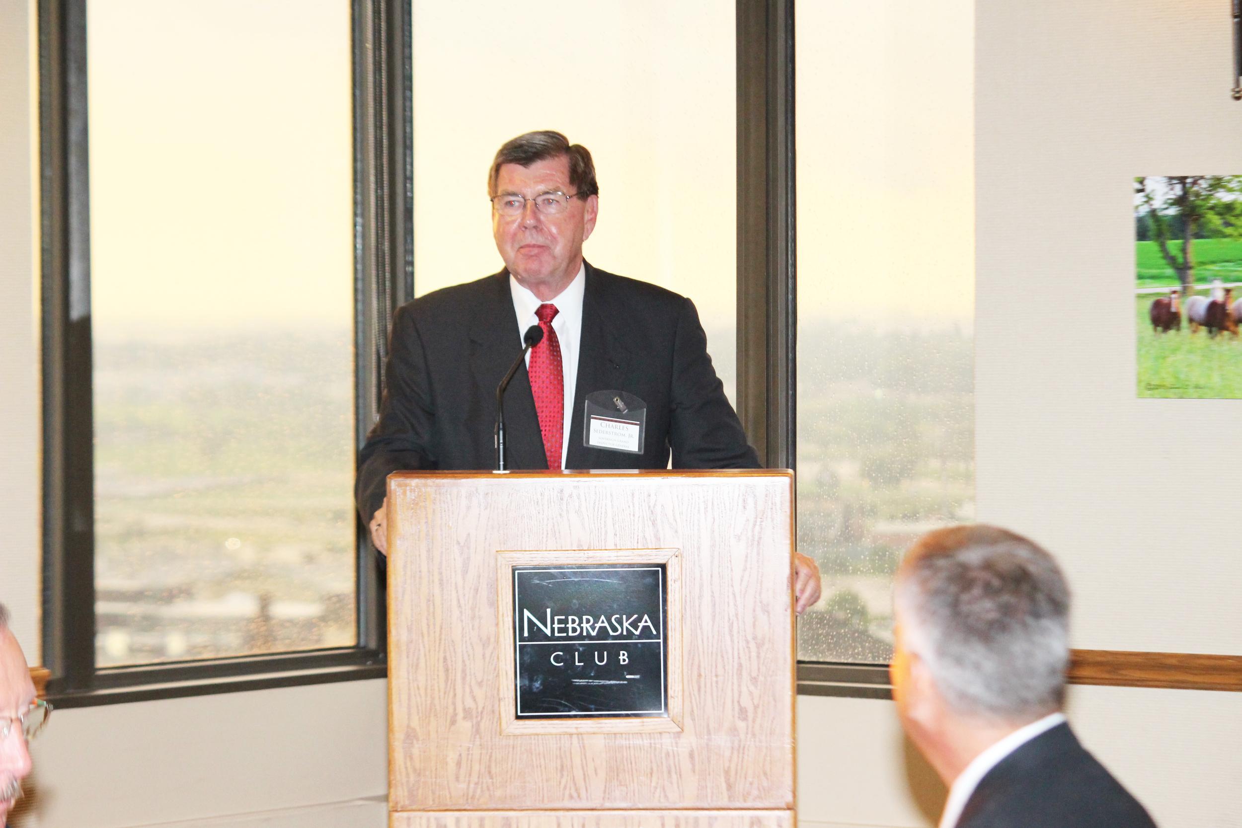 Charles V. Sederstrom, Jr., 33°, SGIG for Nebraska