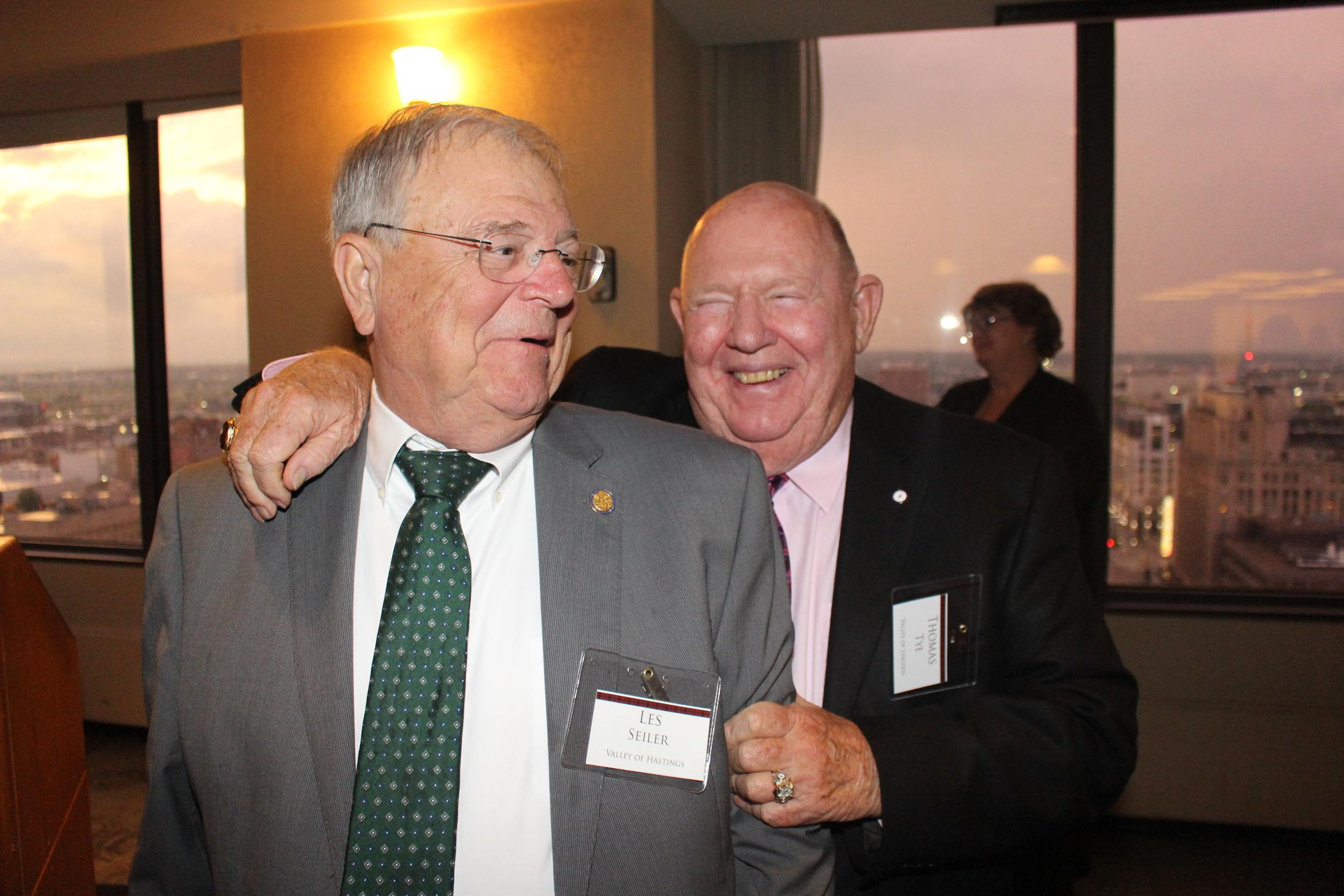 MW Les Seiler and MW Thomas Tye