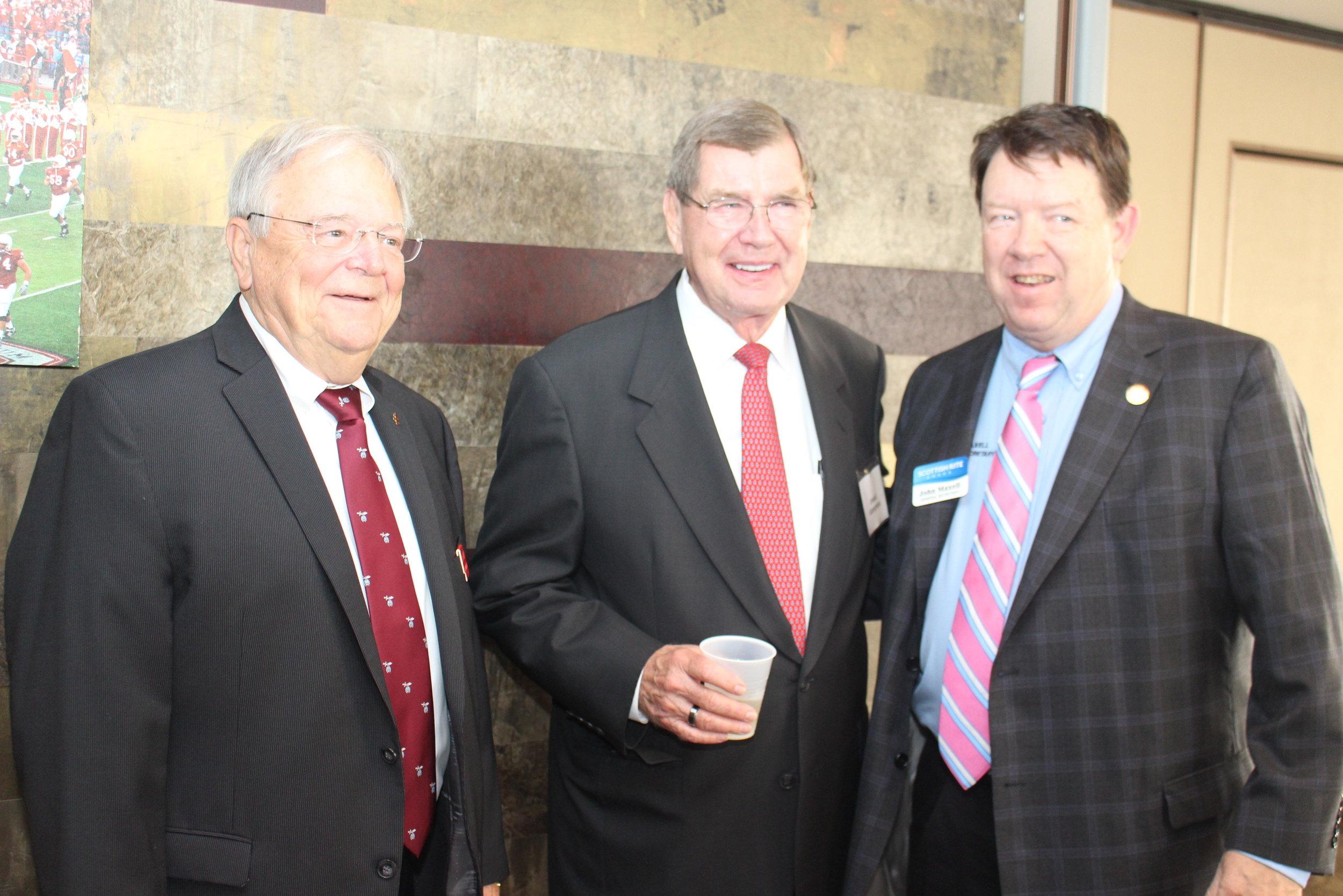 Banquet Recognizes 33° Scottish Rite Masons at Lincoln's Nebraska