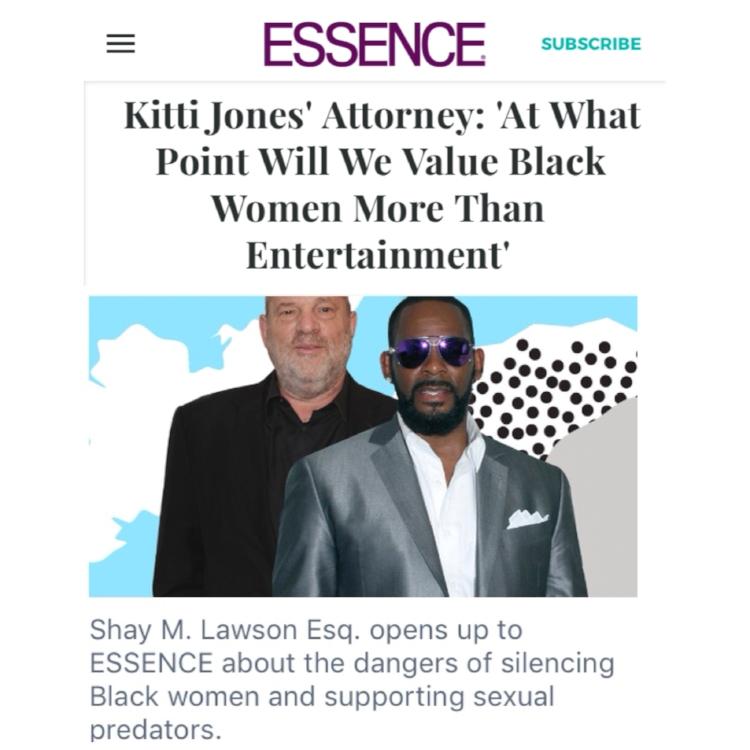 Screenshot from Essence.com