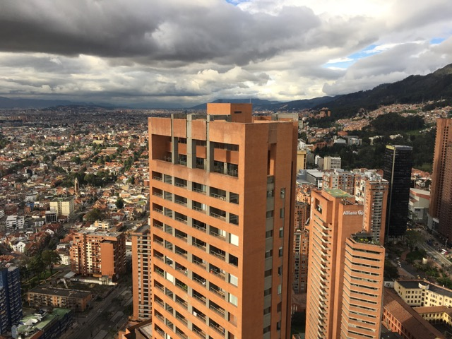 View from President's Office, Bancóldex (Colombia's development bank).