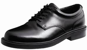 Lace-up boys or girls leather style shoe