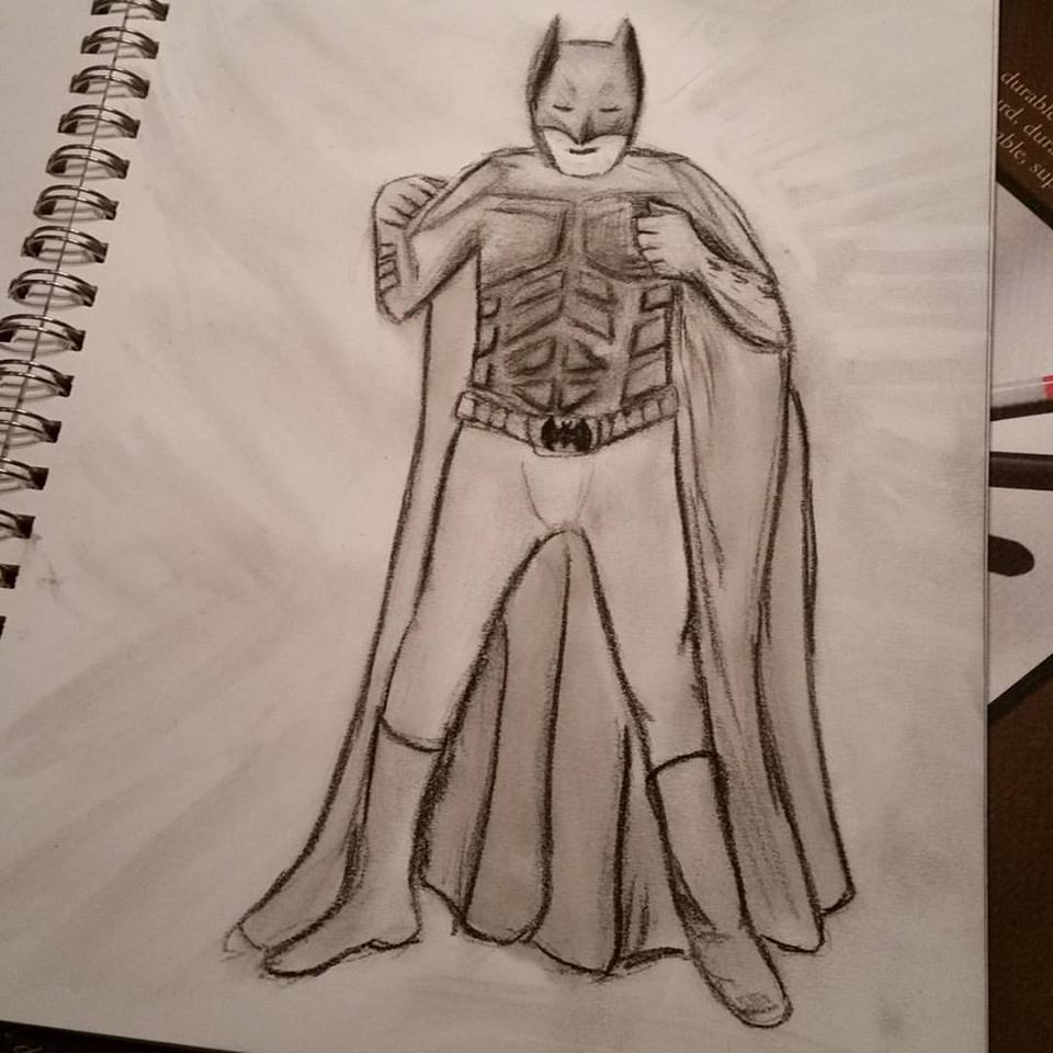 Day 10 - Batman from drawing group
