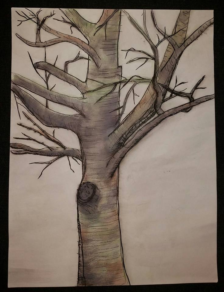 Watercolor and ink, 2014