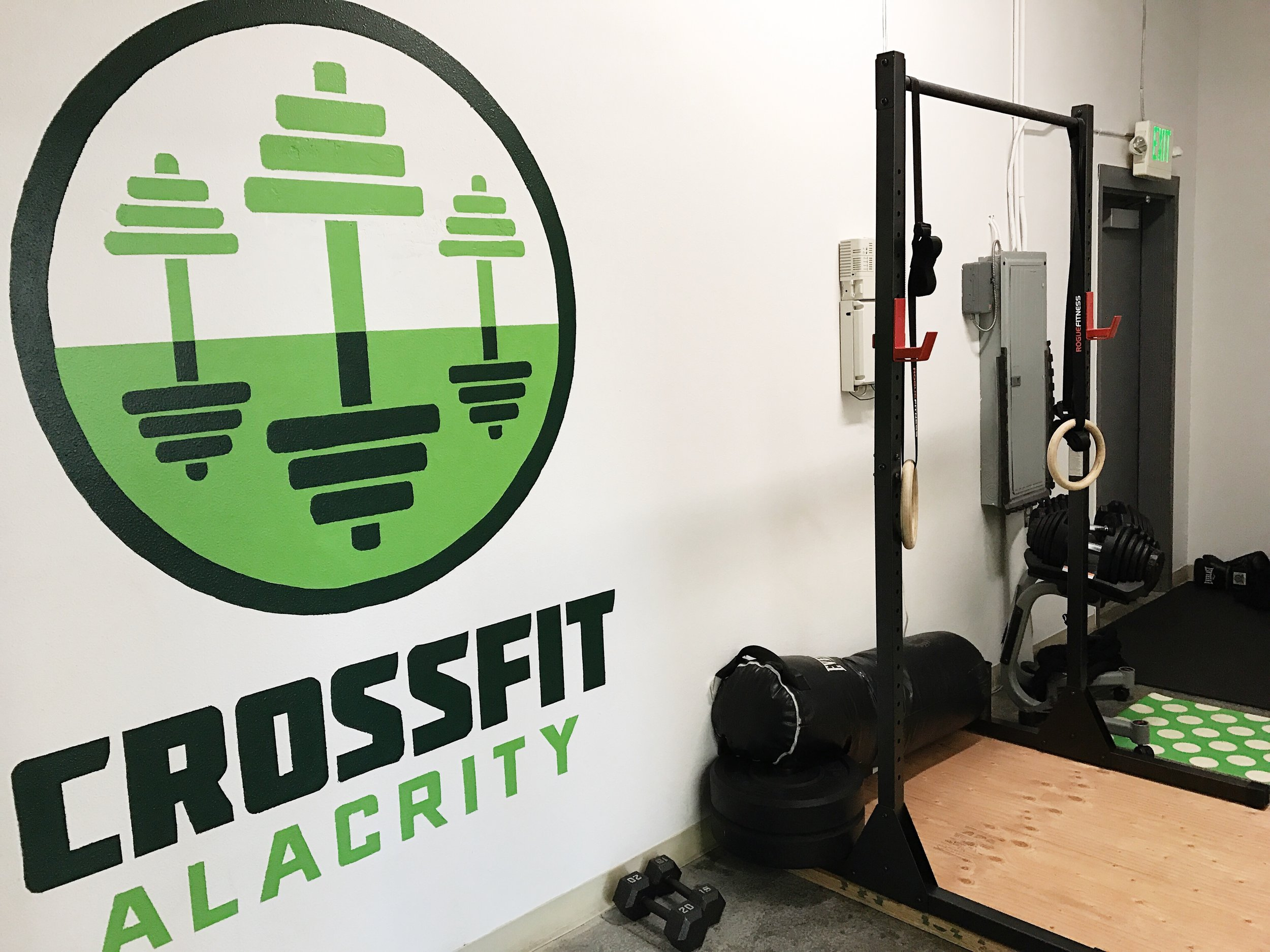 CrossFit Alacrity Personal Training Studio Space