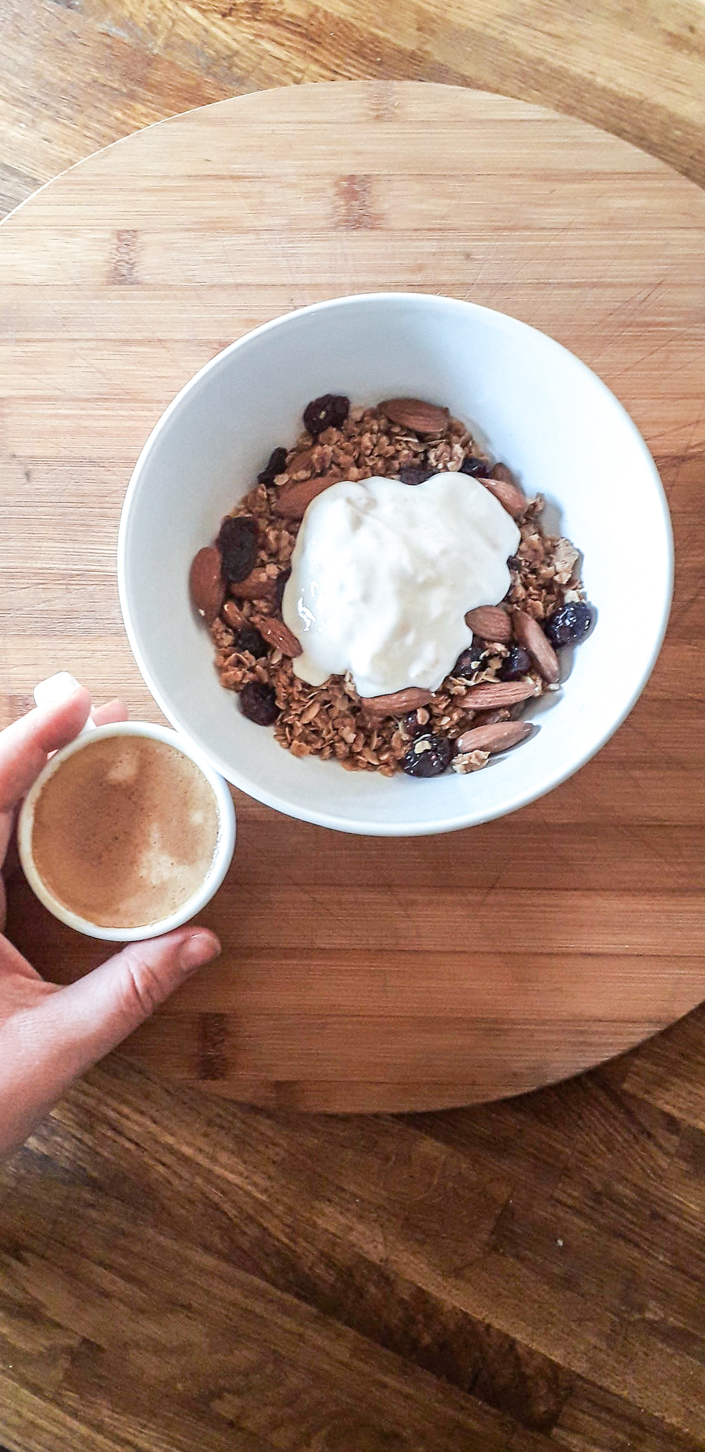 Delicious served with a dollop of your favourite dairy or plant-based yogurt