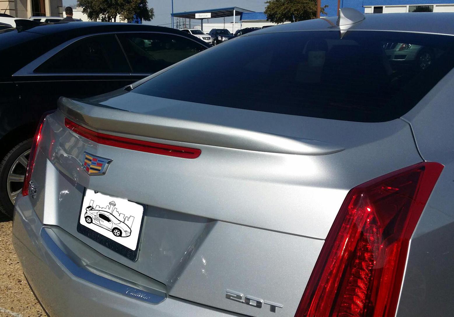 2013+ Cadillac ATS Flush Mount Spoiler