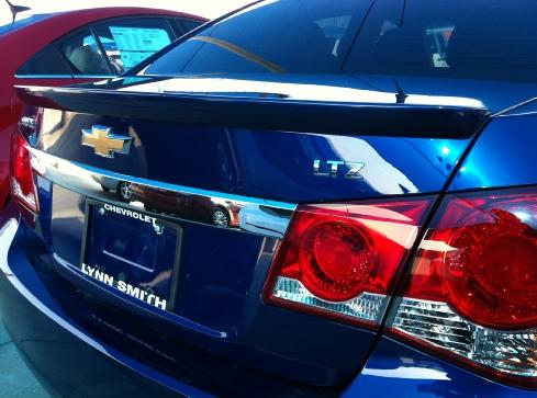 2012+ Chevrolet Cruze Flush Mount Spoiler