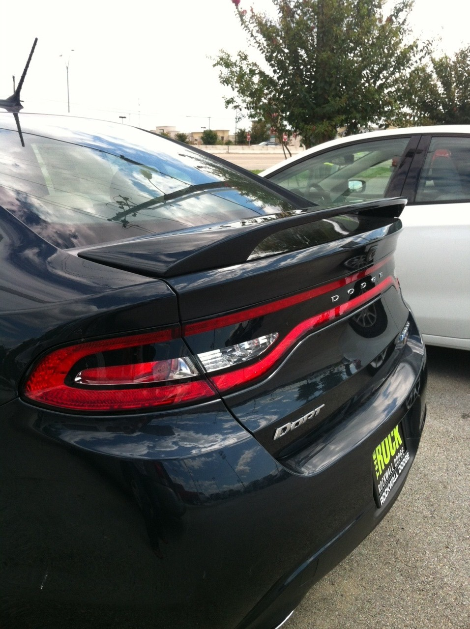2013+ Dodge Dart 2-Post Spoiler