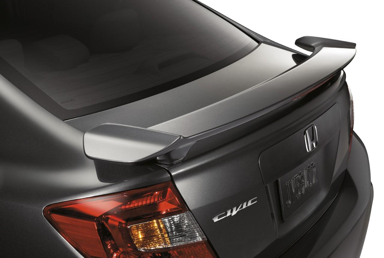 2011-2015 Honda Civic Sedan 2-Post Spoiler
