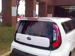 2014+ Kia Soul Custom Roof Spoiler
