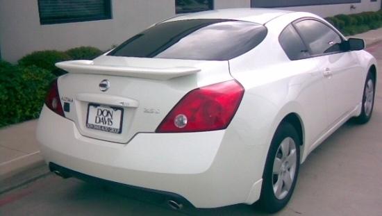 2008-2012 Nissan Altima Coupe Flush Mount Spoiler