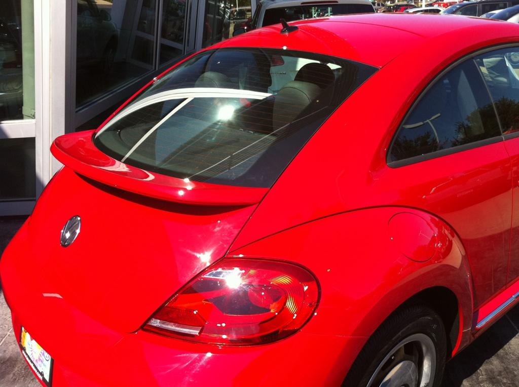 2012+ VW Beetle Factory Style Flush Mount Spoiler
