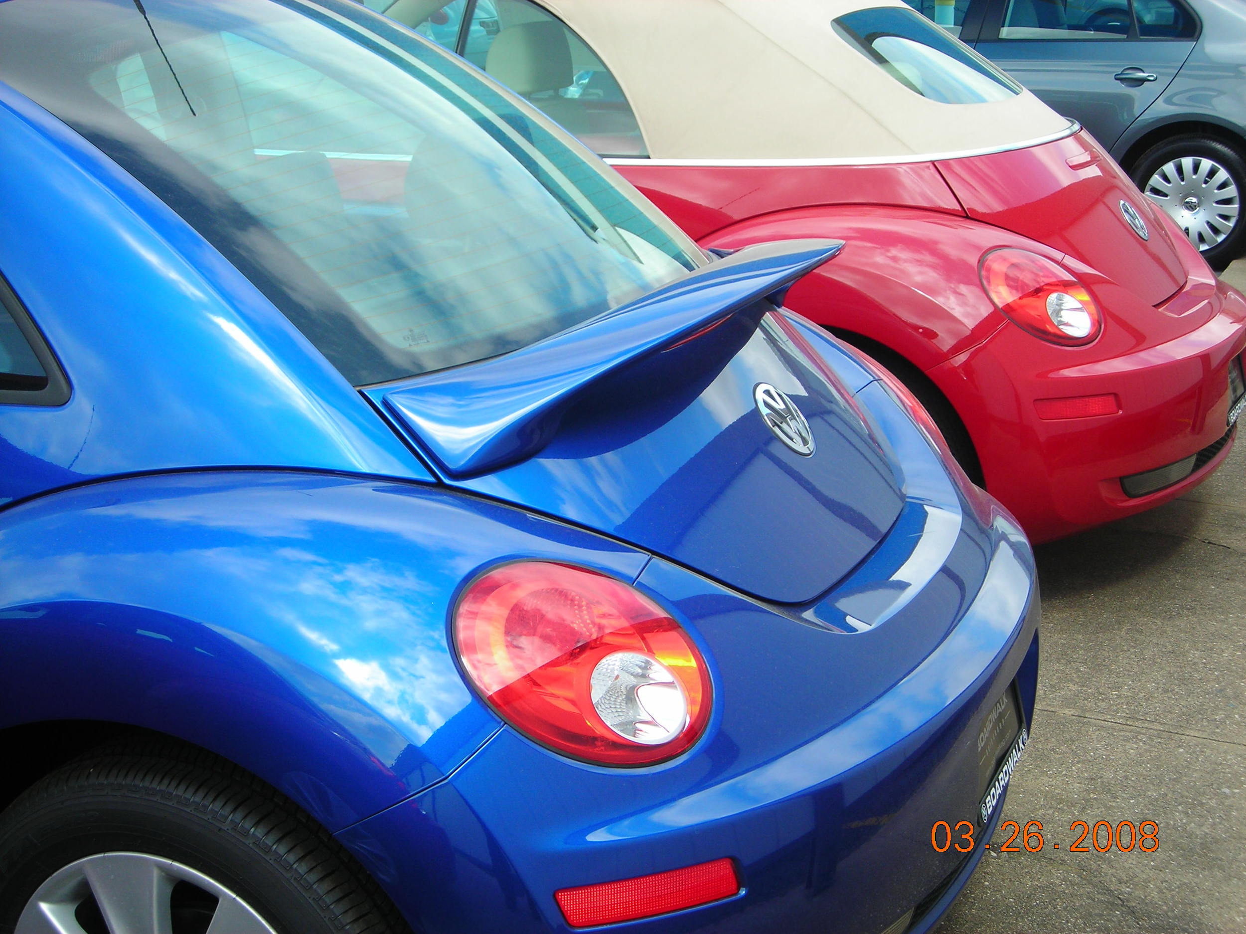 1998-2011 VW Beetle Flush Mount Spoiler