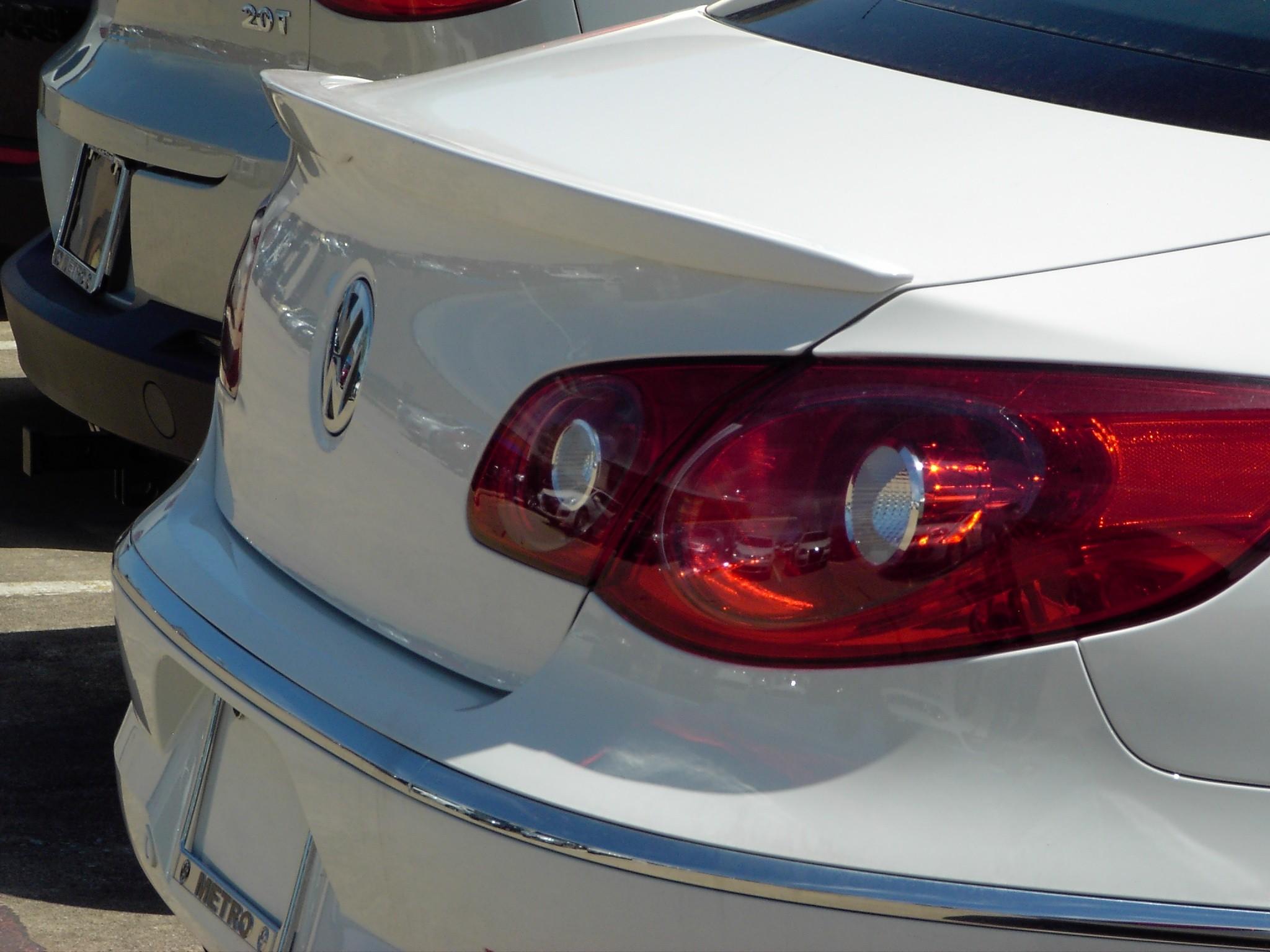 2009+ VW CC Flush Mount Spoiler