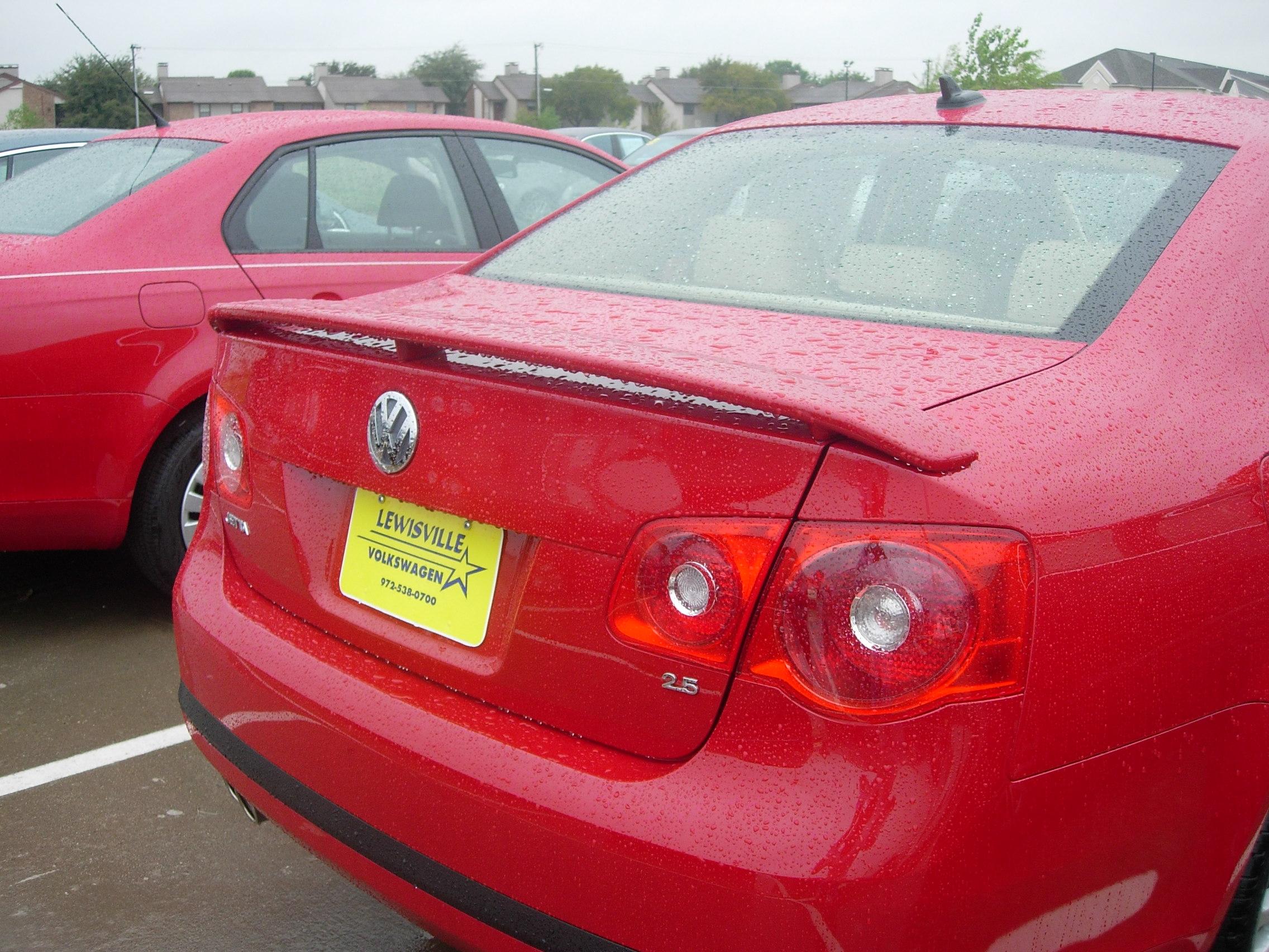 2005-2010 VW Jetta 2-Post Spoiler