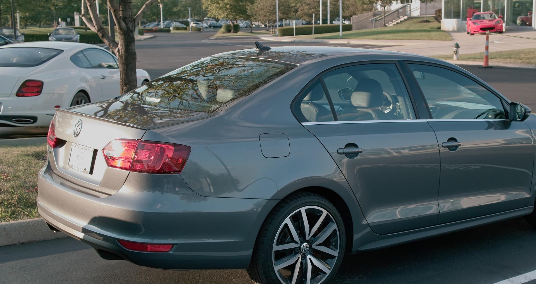 2011+ VW Jetta Flush Mount Spoiler