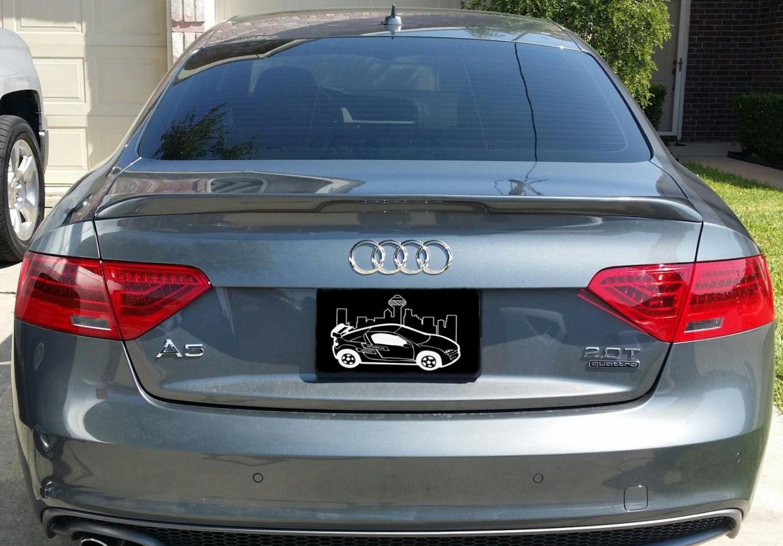 2012+ Audi A5 Flush Mount Spoiler