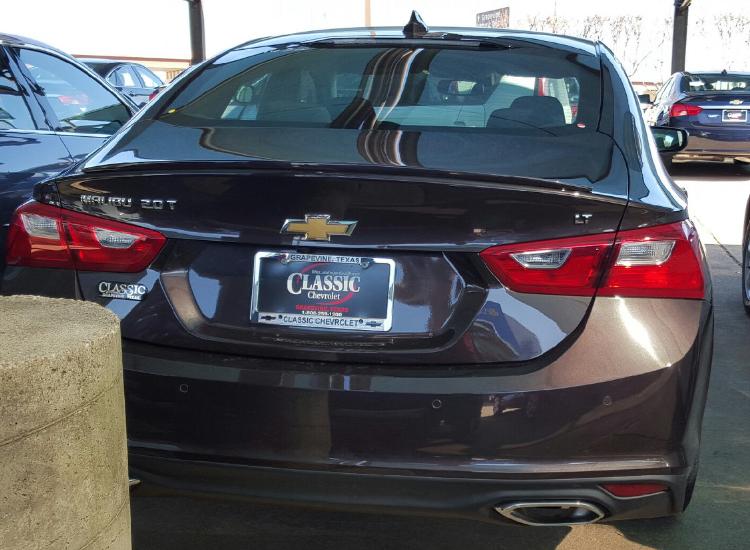 2016+ Chevrolet Malibu Flush Mount Spoiler