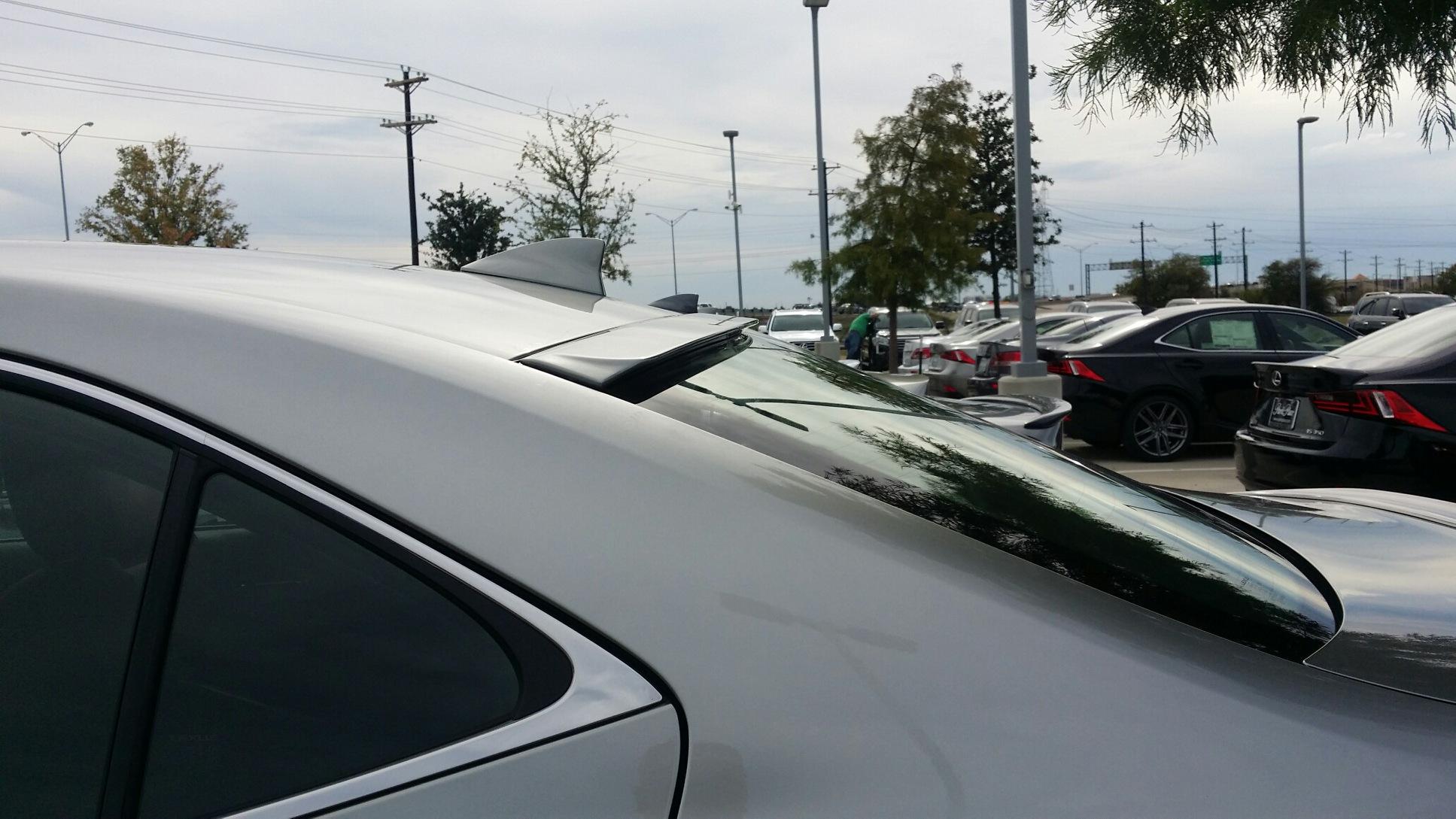 2014+ Lexus IS Roof Mount Spoiler
