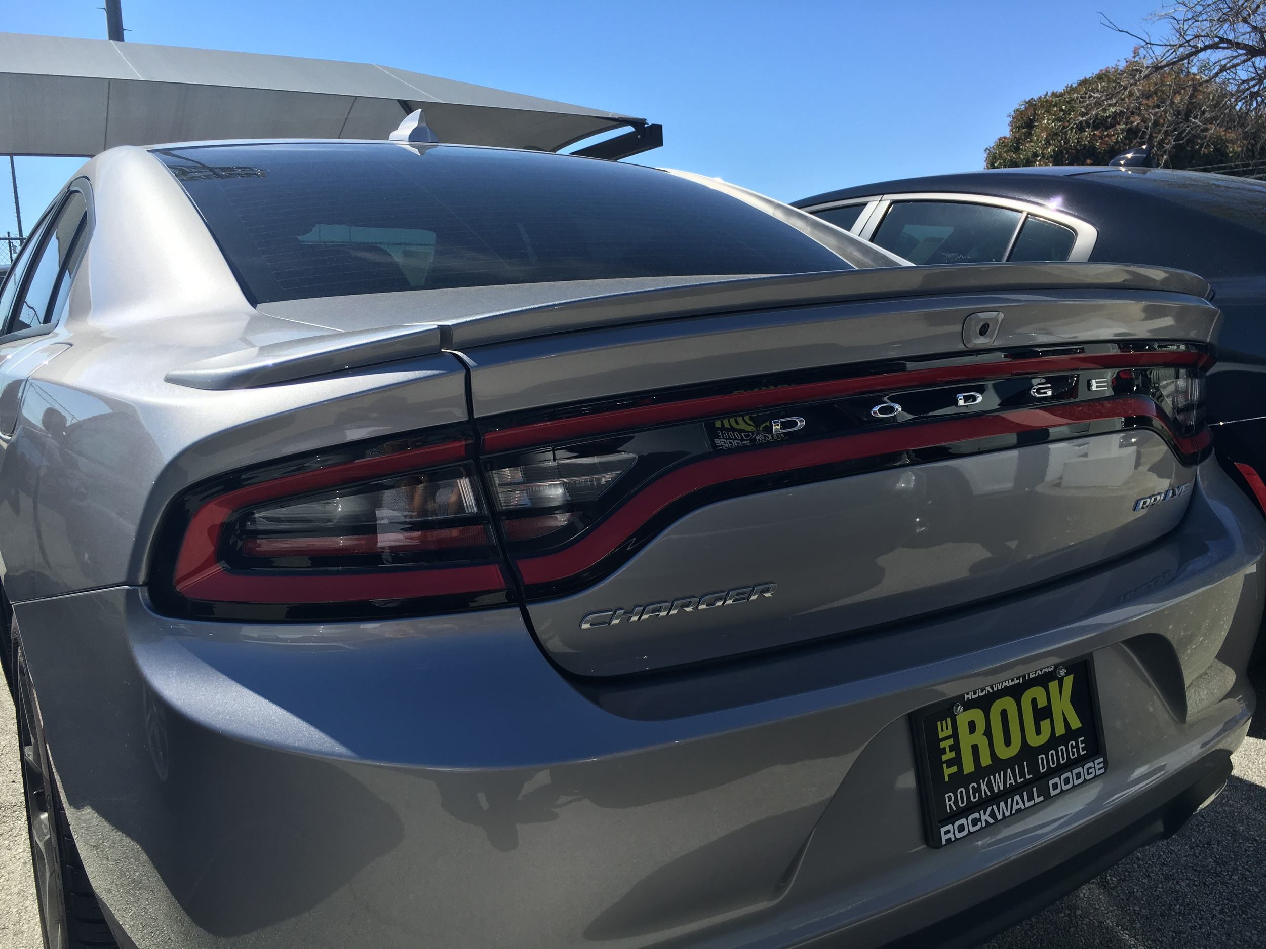 2015+ Dodge Charger Factory Style Flush Mount Spoiler