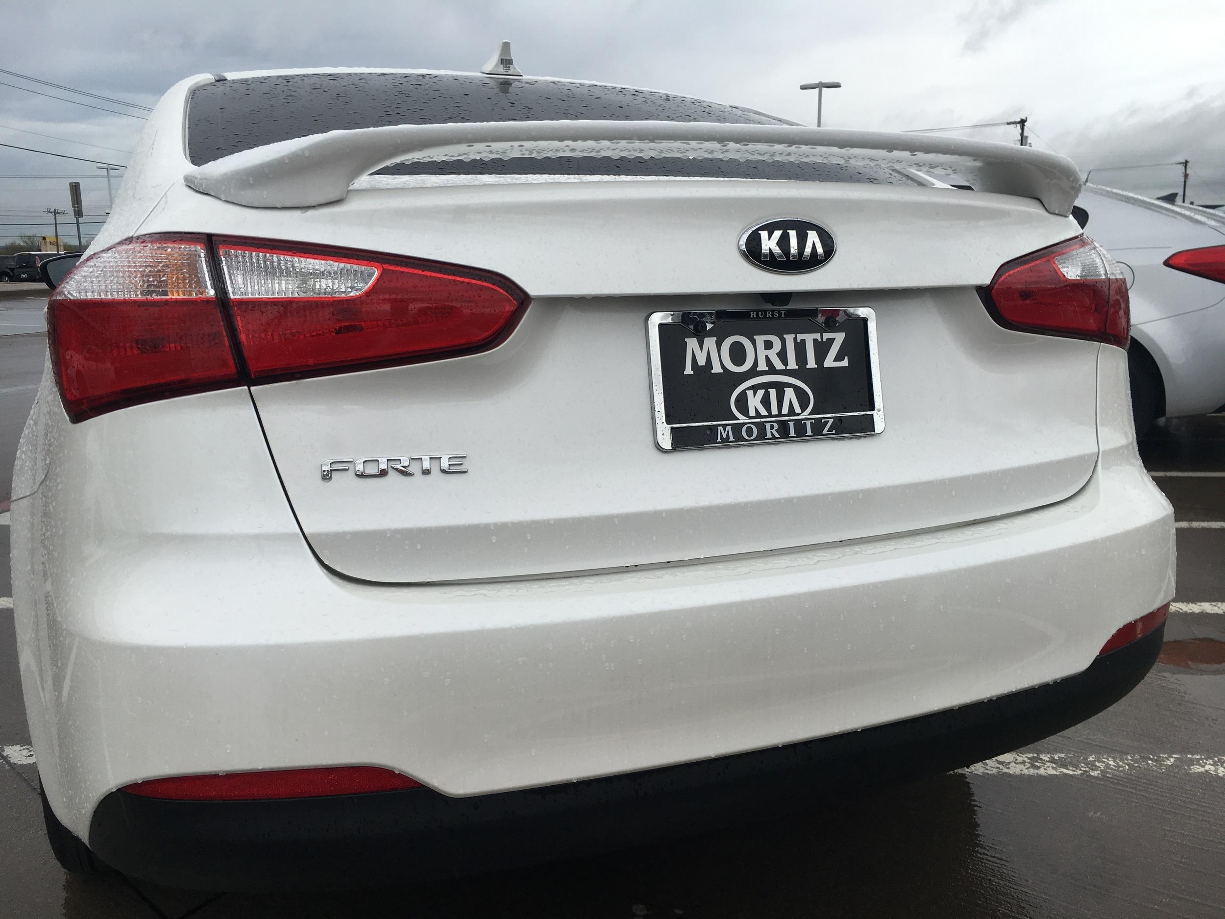 2014+ Kia Forte Sedan Custom 2-Post Spoiler