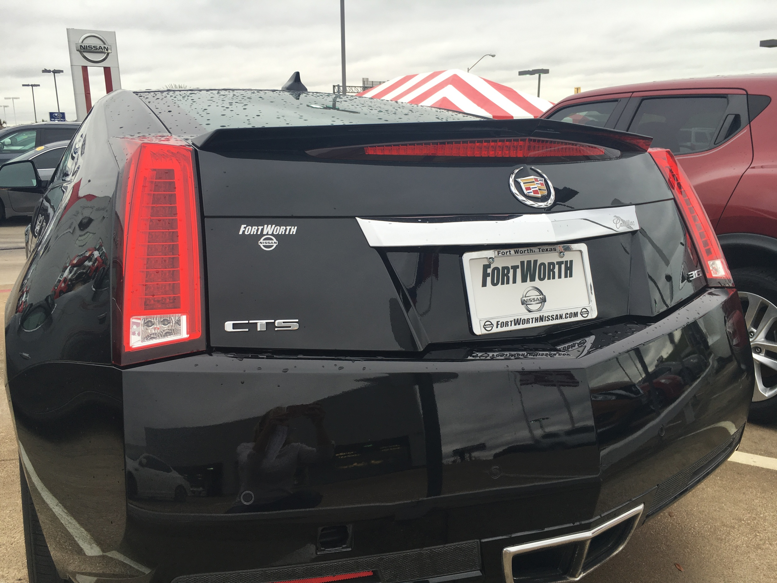 2008-2013 Cadillac CTS Coupe Flush Mount Spoiler