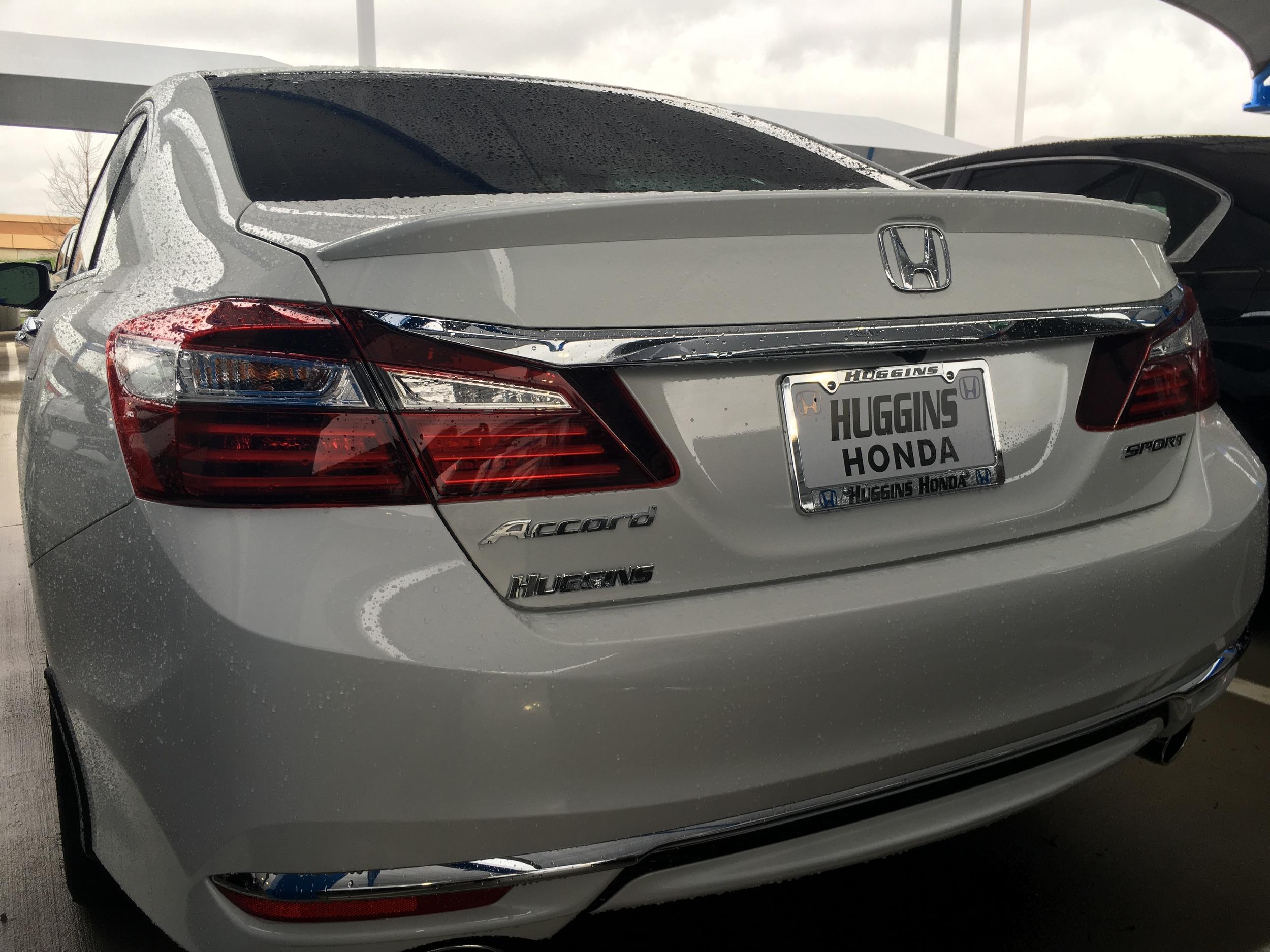 2013+ Honda Accord Sedan Factory Style Flush Mount Spoiler