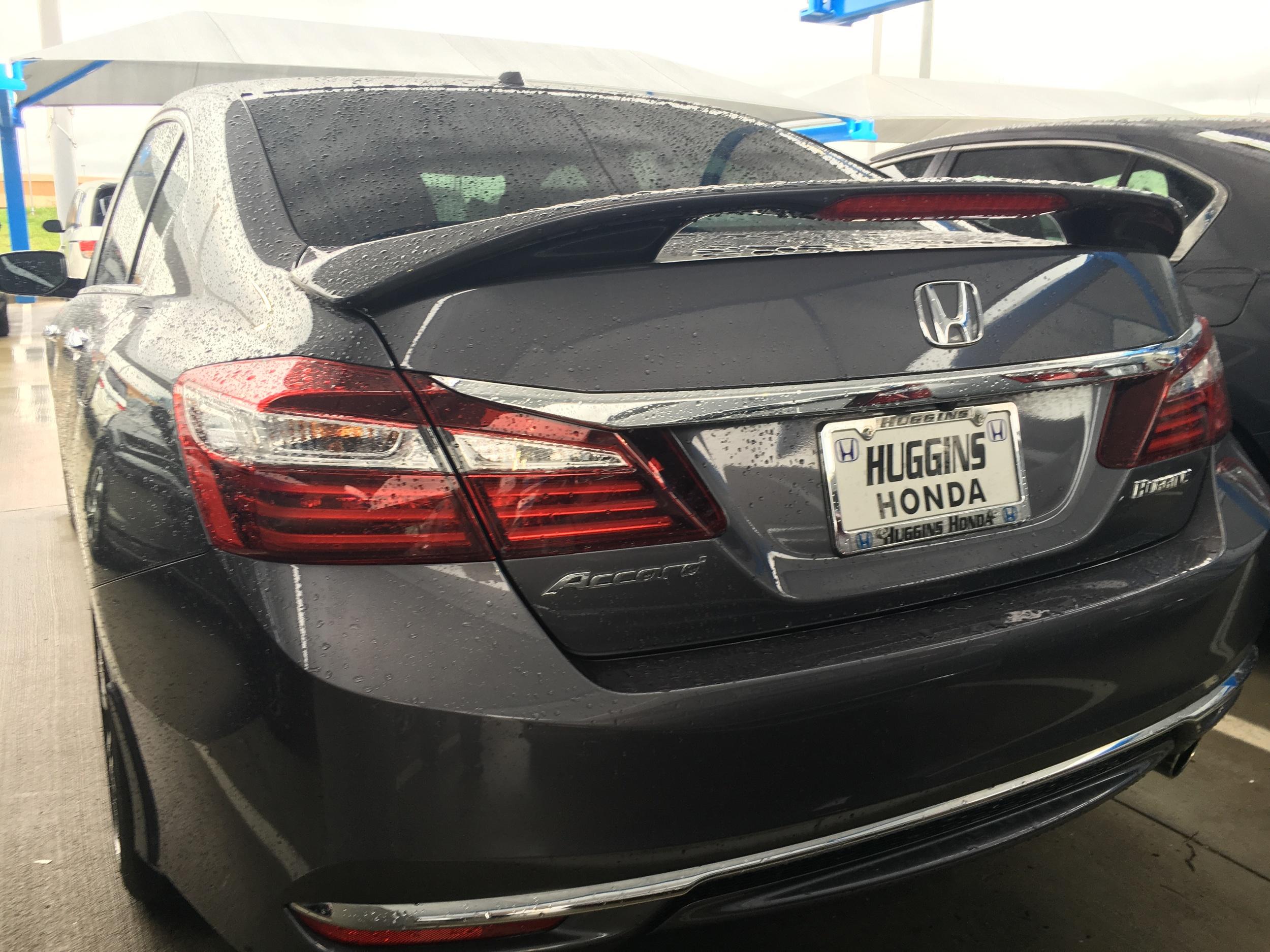 2013+ Honda Accord Sedan Factory Style 2-Post Spoiler