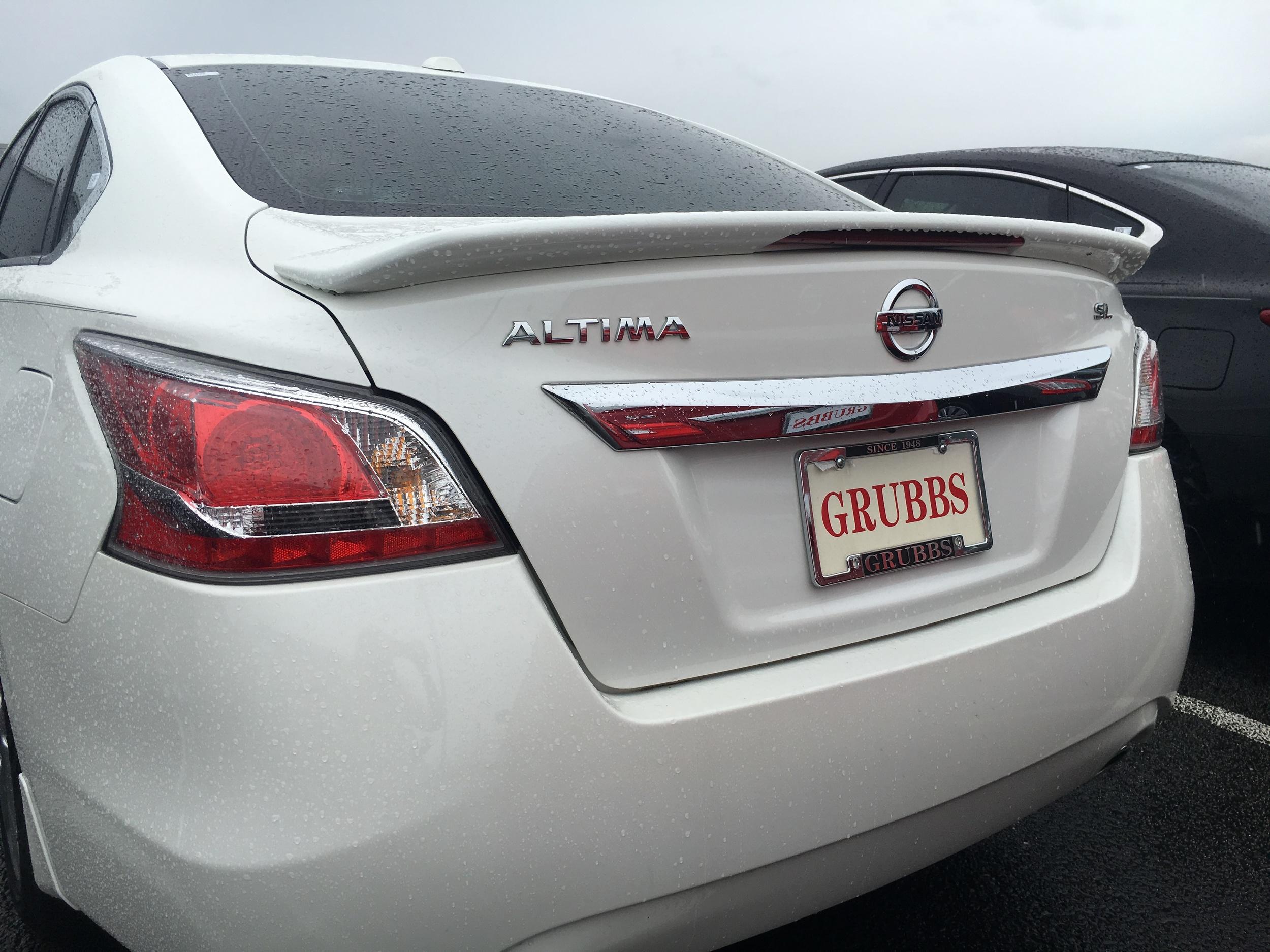 2013-2015 Nissan Altima Sedan Factory Style Flush Mount Spoiler